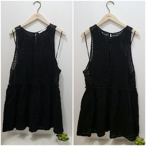 Zara trafaluc black dress S